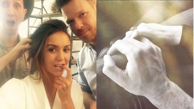 "Nina Dobrev Hochzeit  ""Vampire Diaries"" Star Nina Dobrev Hochzeit von Ian"