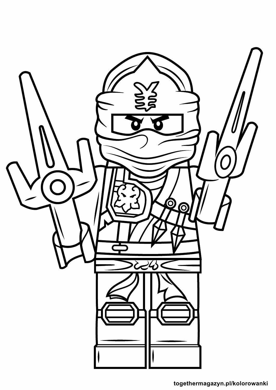 Ninja Ausmalbilder  Lego Ninjago kolorowanki pobierz lub wydrukuj To her