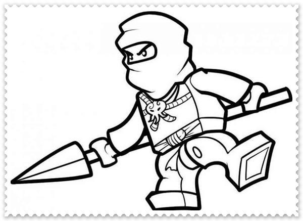 Ninja Ausmalbilder  Ausmalbilder zum Ausdrucken Ninjago Ausmalbilder