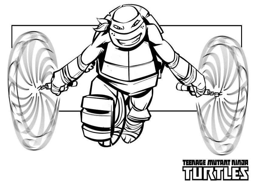 Ninja Ausmalbilder  ausmalbilder ninja turtles 5