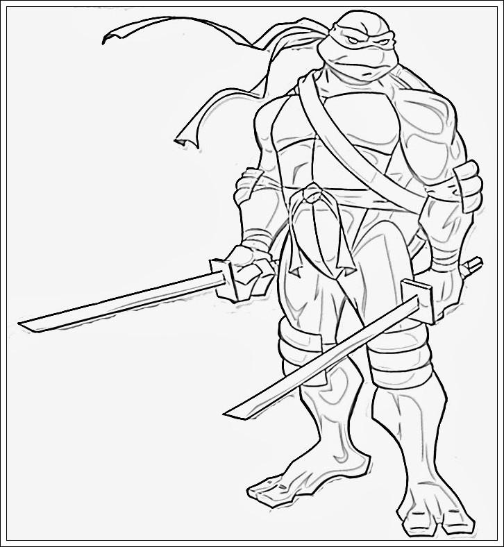 Ninja Ausmalbilder  Ausmalbilder zum Ausdrucken Ausmalbilder Ninja Turtles