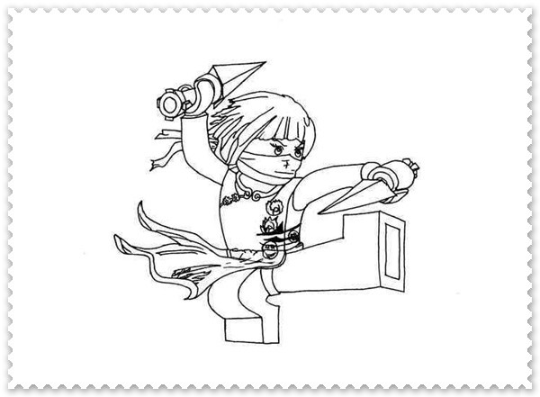 die besten ideen für ninjago nya ausmalbilder  beste