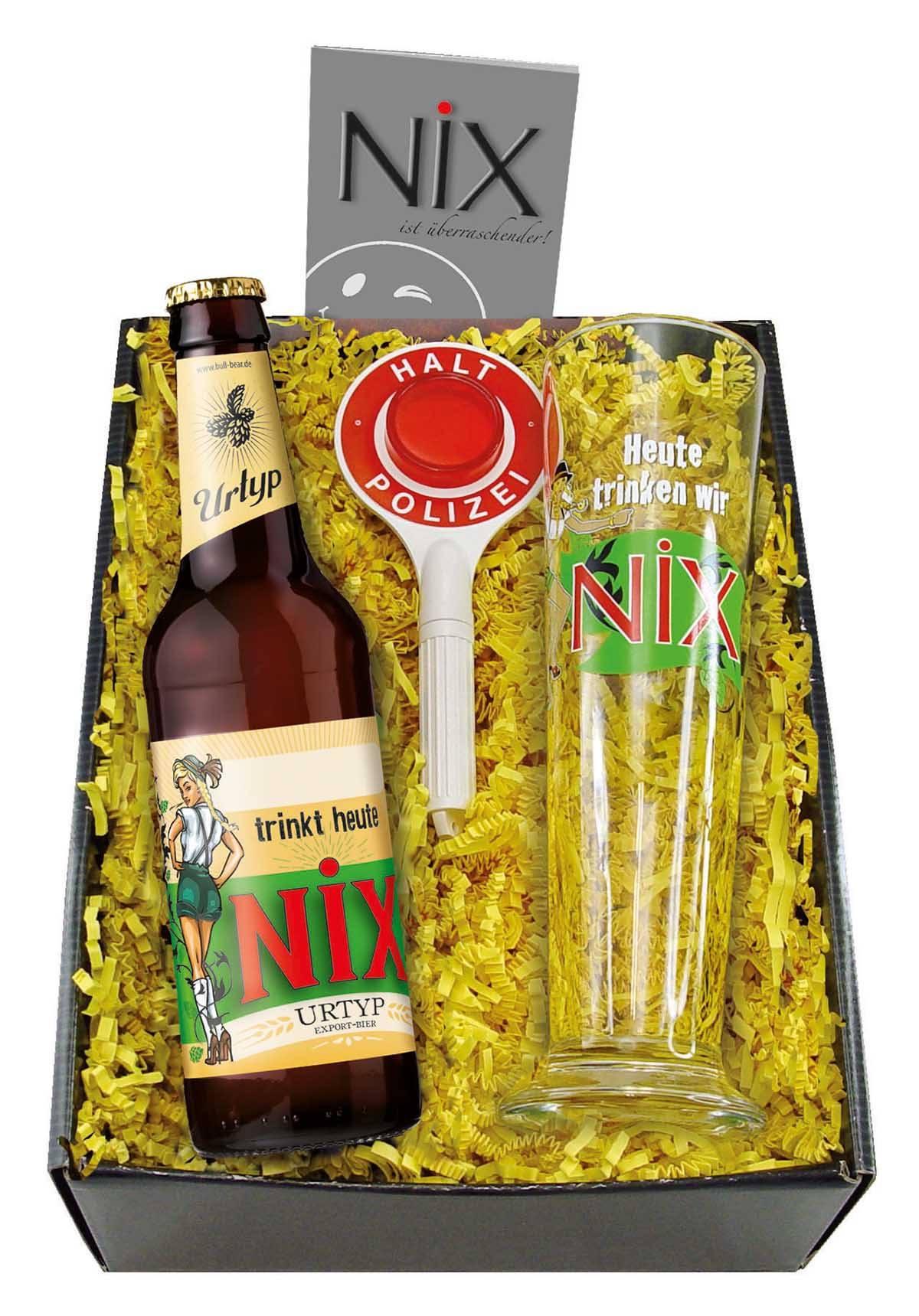 Nix Geschenke  NiX Geschenk Set NiX im Glas