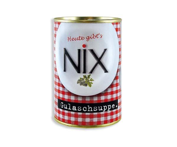 Nix Geschenke  NIX Gulaschsuppe
