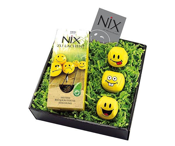Nix Geschenke  Geschenk Set NiX zu lachen
