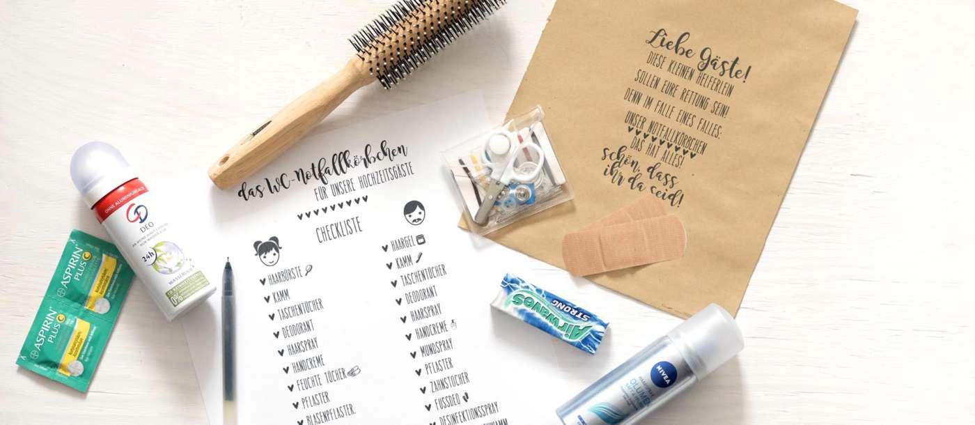 Notfallkörbchen Hochzeit Text  Blog Seite 2 von 3 Papierdrachen