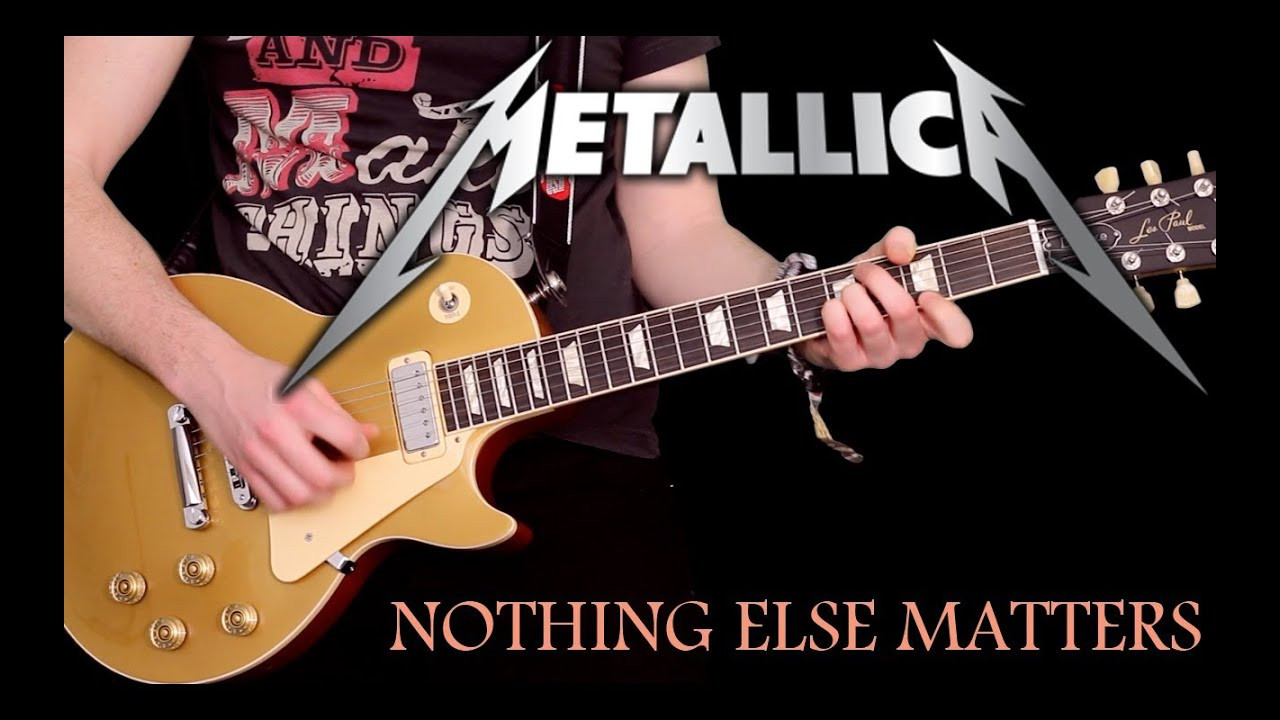 Nothing Else Matters  NOTHING ELSE MATTERS by Metallica Instrumental Cover