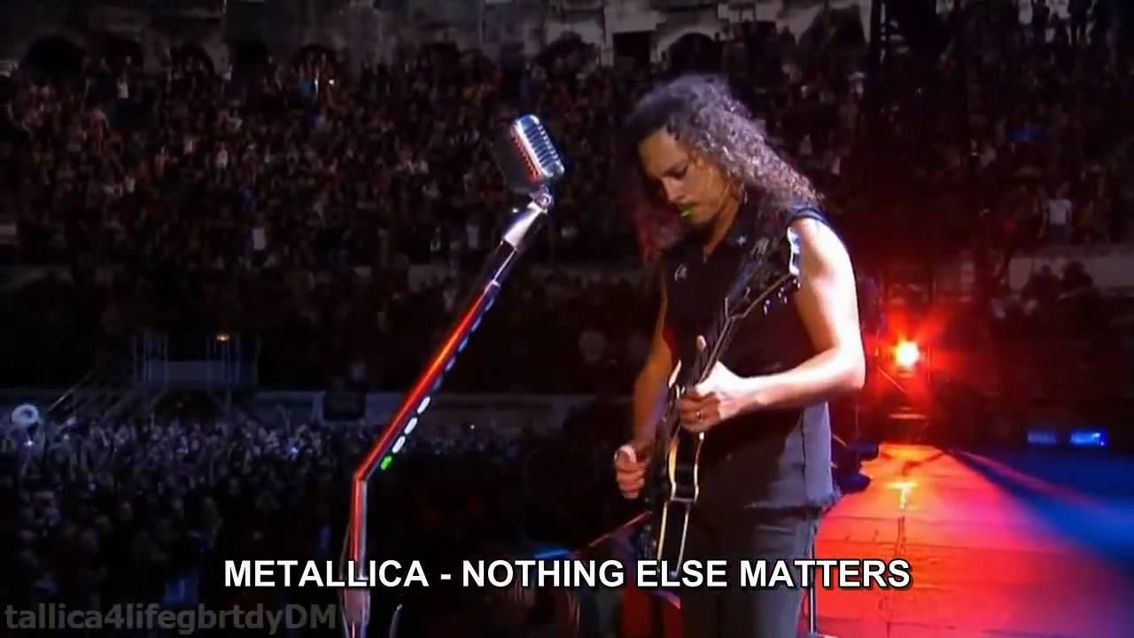 Nothing Else Matters  METALLICA Nothing Else Matters HD español traducida