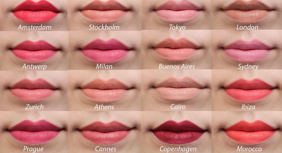 Nyx Soft Matte Lip Cream Swatches  NYX Soft Matte Lip Creams reviews and swatches