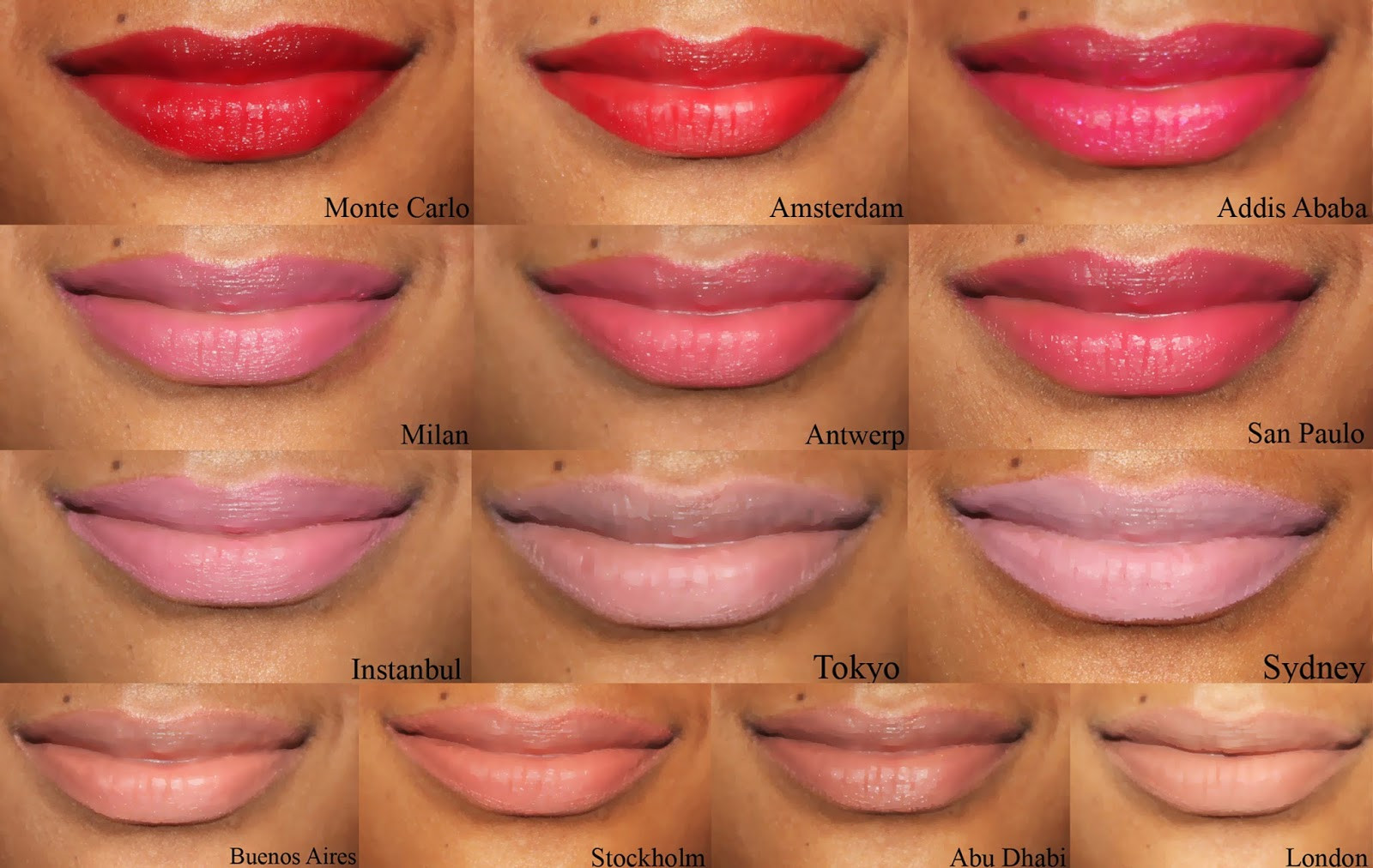 Nyx Soft Matte Lip Cream Swatches  Love Naheeda NYX SOFT MATTE LIP CREAM SWATCHES