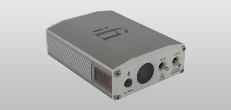 Optischer Eingang  iFi Audio i e Qobuzissime für sen DAC mit exzellenter