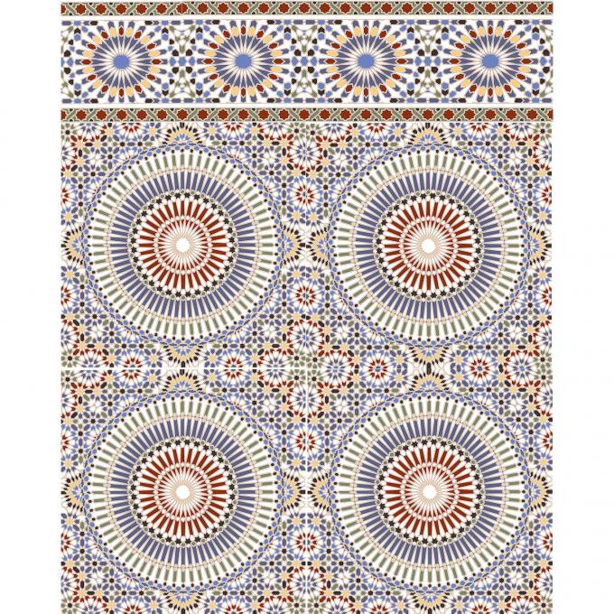 Orientalische Fliesen  Marokkanische Fliesen Tanger