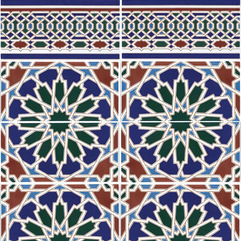 Orientalische Fliesen  Marokkanische Fliesen Zakia