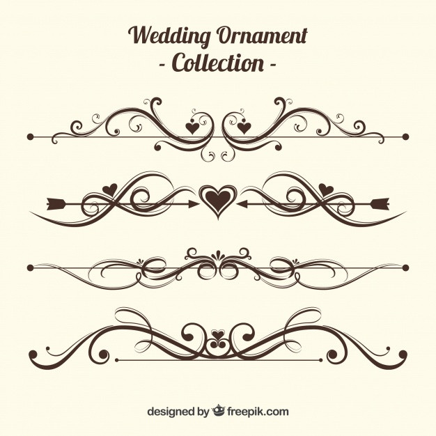Ornamente Hochzeit  Ornamente Hochzeit
