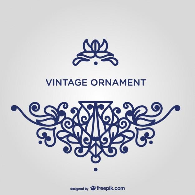 Ornamente Vorlagen Kostenlos Hochzeit  Wirbeln blaue Ornament Vorlage