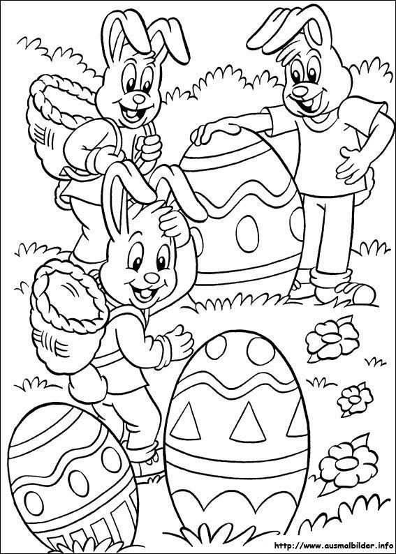 Oster Ausmalbilder  Ostern Ausmalbild Malbilder