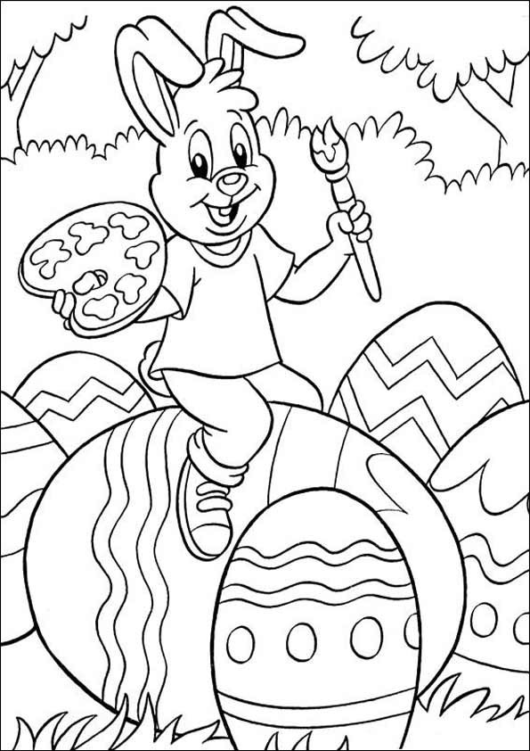 Oster Ausmalbilder  Ausmalbilder gratis Ostern 17