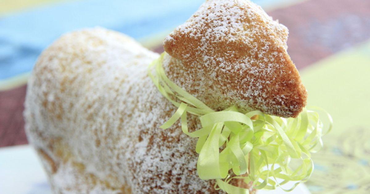 Osterlamm Kuchen  Osterlamm im Kokospelz Niedlichen Kuchen zu Ostern selber