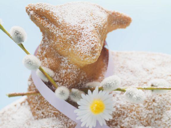Osterlamm Kuchen  Osterlamm Kuchen Rezept
