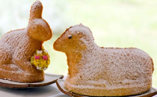 Osterlamm Kuchen  Osterlamm Rezept backen Sie einen traditionellen