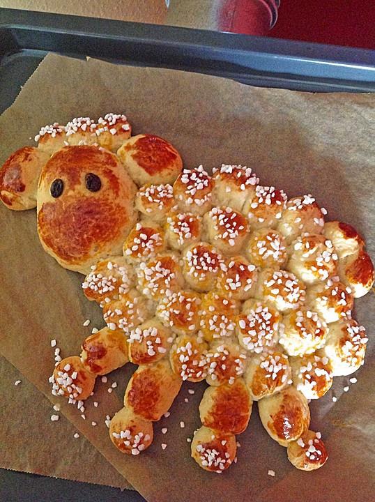 Osterlamm Kuchen  Osterlamm von Lava Cake