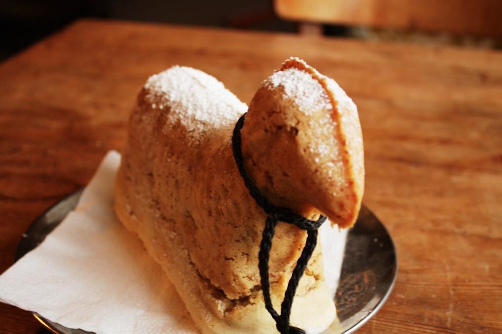 Osterlamm Kuchen  Osterlamm Kuchen vegan und glutenfrei