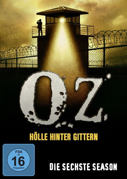Oz Hölle Hinter Gittern  Oz Hölle hinter Gittern Die sechste Season 3 Discs