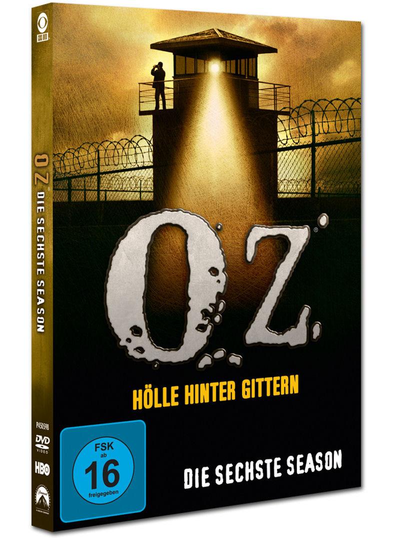 Oz Hölle Hinter Gittern  Oz Hölle hinter Gittern Season 6 Box 3 DVDs [DVD