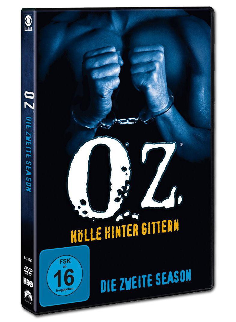 Oz Hölle Hinter Gittern  Oz Hölle hinter Gittern Season 2 Box 3 DVDs [DVD
