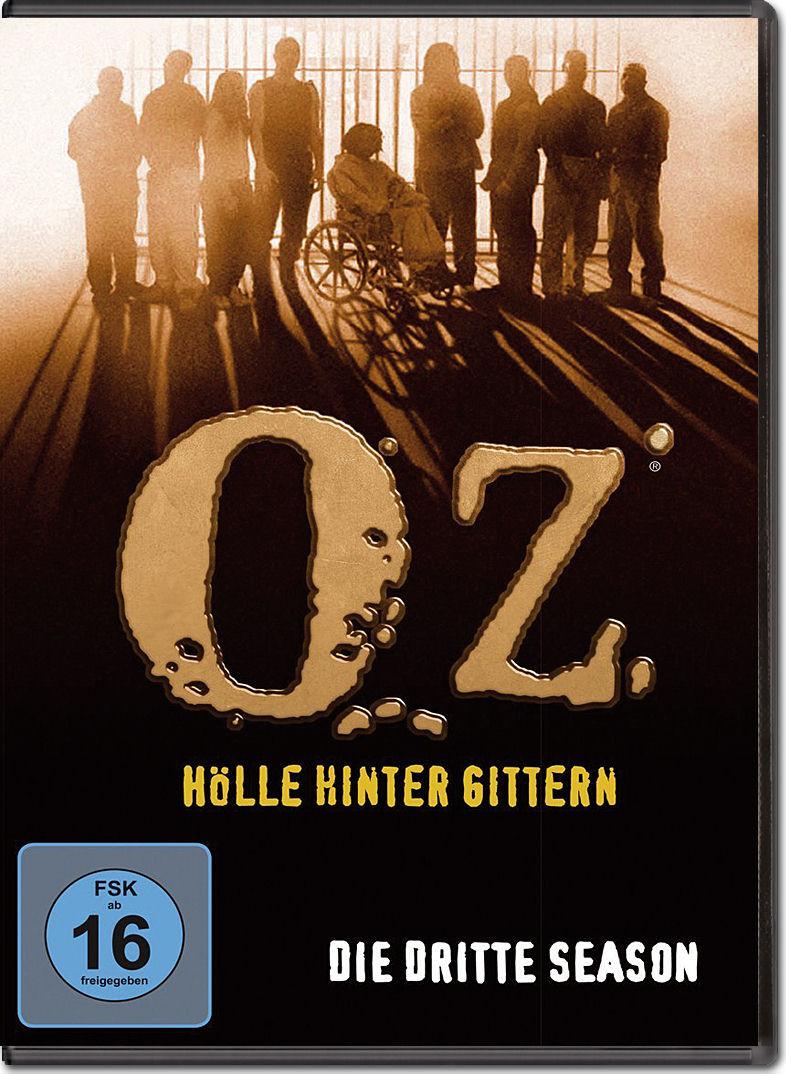Oz Hölle Hinter Gittern  Oz Hölle hinter Gittern Season 3 Box 3 DVDs [DVD