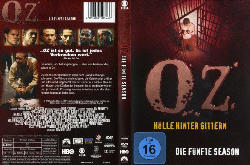 Oz Hölle Hinter Gittern Stream  Oz Staffel 5 DVD oder Blu ray leihen VIDEOBUSTER