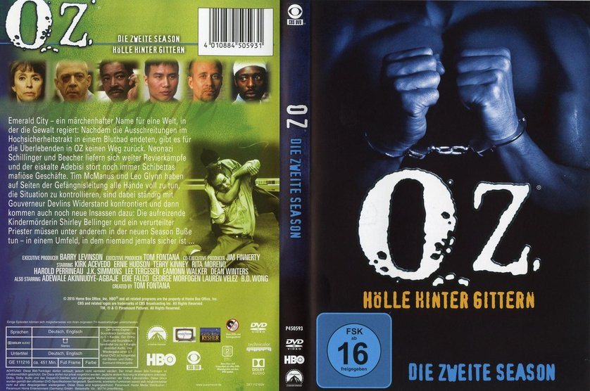 Oz Hölle Hinter Gittern Stream  Oz Staffel 2 DVD oder Blu ray leihen VIDEOBUSTER