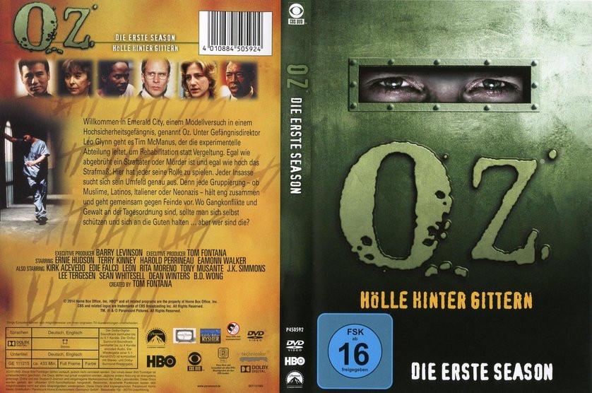 Oz Hölle Hinter Gittern Stream  Oz Staffel 1 DVD oder Blu ray leihen VIDEOBUSTER