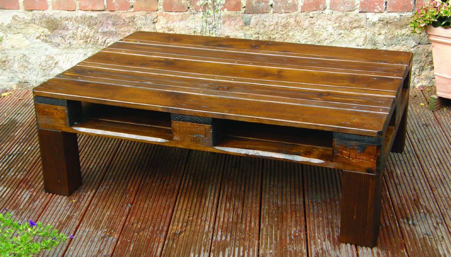 Paletten Tisch  Raumvisionen Paletten Tisch