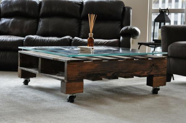 Paletten Tisch  Der Paletten Tisch Etwas rustikal aber trotzdem attraktiv