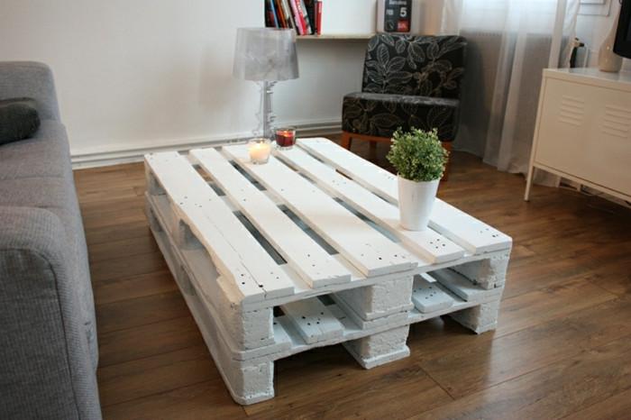 Paletten Tisch  Tisch aus Paletten 33 wunderbare Ideen Archzine