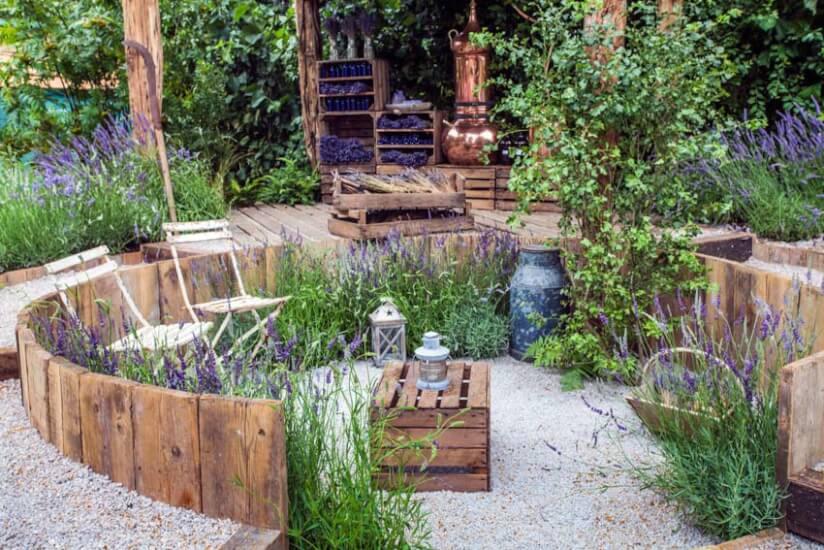 Palettenmöbel Garten  Strandkorb im Garten Tipps zur Aufstellung Pflege & Deko