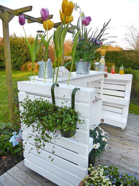 Palettenmöbel Garten  Palettenmöbel Garten Regal Garten Bar Palettery