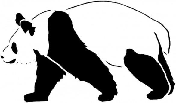 Panda Ausmalbilder  Vorlagen zum Ausdrucken Ausmalbilder Panda Malvorlagen 2