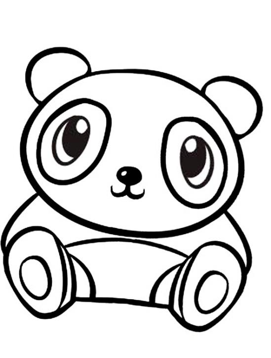 Panda Ausmalbilder  Schöne Malvorlagen Ausmalbilder Panda ausdrucken 1