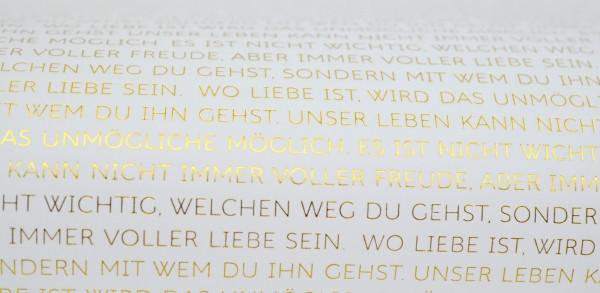 Papier Hochzeit  Mundart Stempel Designpapier transparent Hochzeit
