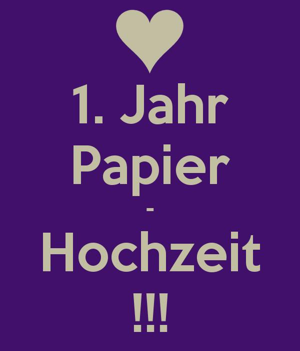 Papier Hochzeit  1 Jahr Papier Hochzeit Poster Nurija