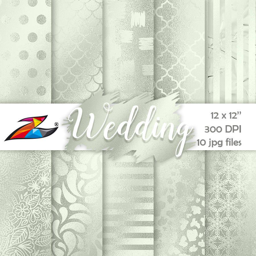 Papier Hochzeit  Verkauf Hochzeit digitale Papier kommerzielle Nutzung