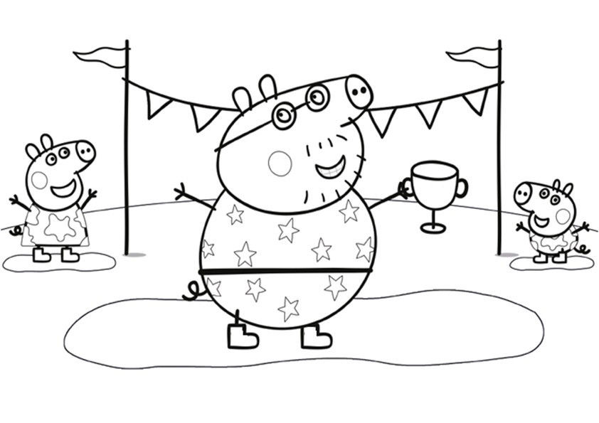 Peppa Pig Ausmalbilder  Ausmalbilder Peppa Pig 21