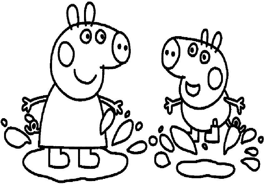 Peppa Pig Ausmalbilder  Ausmalbilder Peppa Pig 7