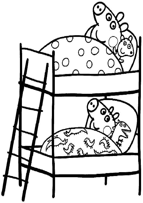 Peppa Pig Ausmalbilder  Ausmalbilder Peppa Pig8