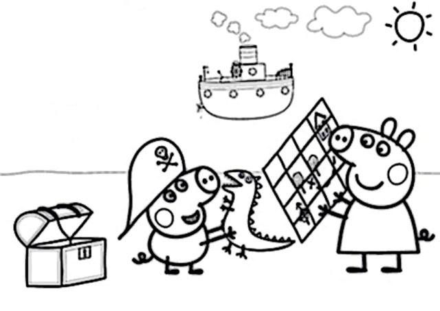 Peppa Pig Ausmalbilder  peppa wutz malvorlage – MalVor