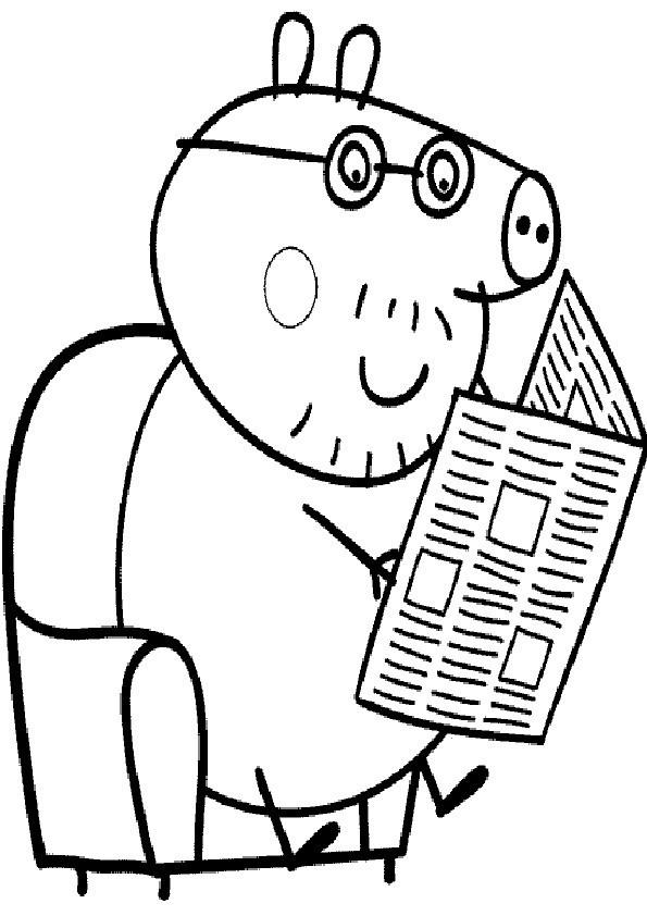 Peppa Pig Ausmalbilder  Ausmalbilder Peppa Pig 24