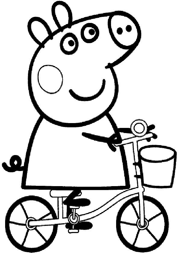 Peppa Pig Ausmalbilder  Ausmalbilder Peppa pig 5
