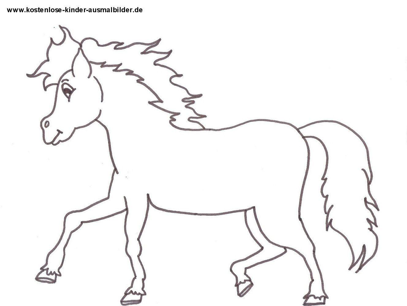 Pferde Ausmalbilder  Ausmalbilder Pferde Gratis Ausmalbilder Pferde Kostenlos